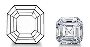 Asscher Cut Diamond image