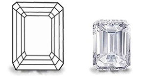 Emerald Cut Diamond image