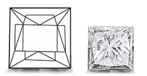 Princess Cut Diamond image